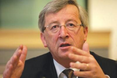 Председателят на еврогрупата и премиер на Люксембург Жан-Клод Юнкер