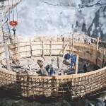 Изграждане на савачна шахта